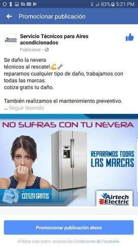 Mantenimiento E Instalación Aires,nevera