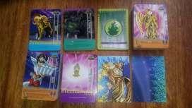semicoleccion cards caballero del zodiaco imagic