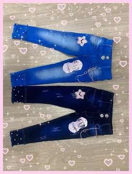 Jeans de niña en promocion