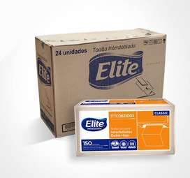 Toalla papel plegada en Z, para manos, por caja de 24 unidades