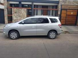 Chevrolet Spin Lt Nafta 5 As Año 2013
