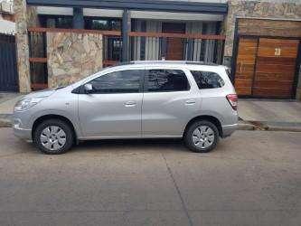 Chevrolet Spin Lt Nafta 5 As Año 2013 0