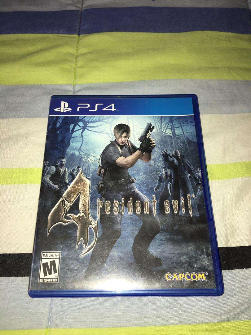 Juego Ps4 Resident Evil 4 0