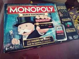 Juego Monopoly Banco electronico