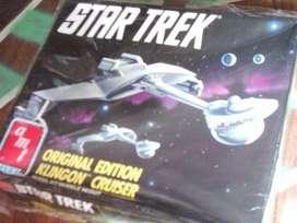 Star Trek : Nave Klingon Cruiser 25 Aniversario Para Armar y pintar