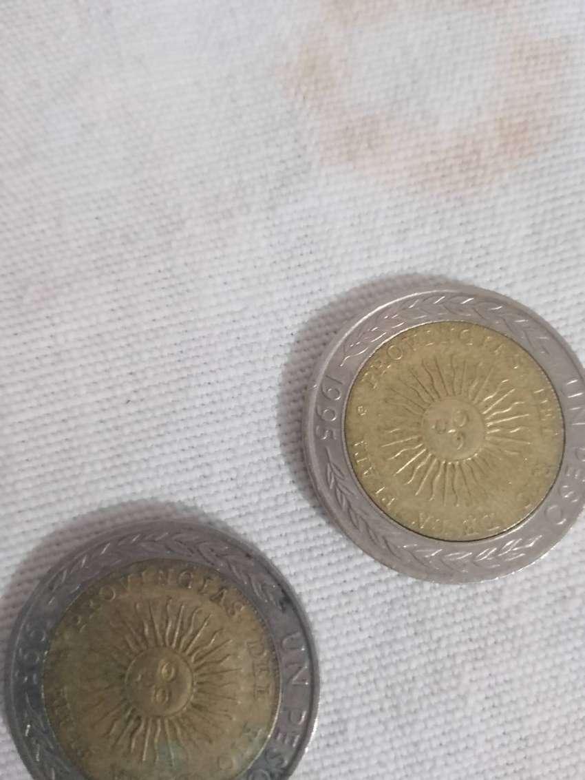 Vendo 3 monedas de $1 de PROVINGIAS de 1995