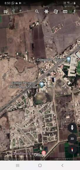 Terreno Urb Los Nogales 125 mts2 frente a parque