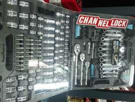 PRACTICO SET  DE HERRAMIENTAS 190 PC  CHANNELLONCK