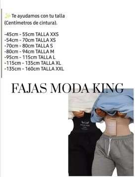 FAJAS MODA KING