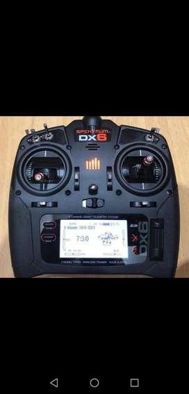 Radiocontrol Spektrum Dx6