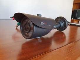Cámara Seguridad Vigilancia Video Pronext Ex 20 4n1 Hd con fuente
