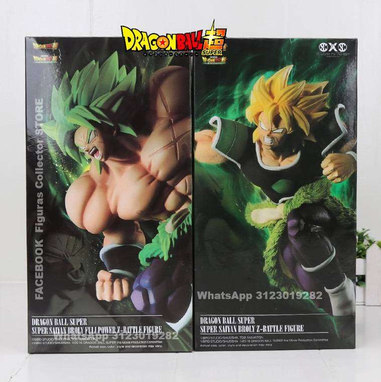 Broly Figuras Dragon Ball Super 0