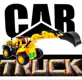 Retroexcavadora Juguete Truck Jugueteria Carro Didáctico