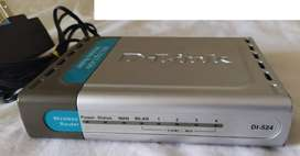 D-Link DI-524 High Speed 2.4GHz (802.11g) Enrutador Inaalambrico