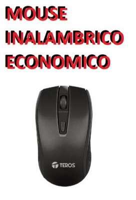 Venta de mouse inalámbrico Teros Económico