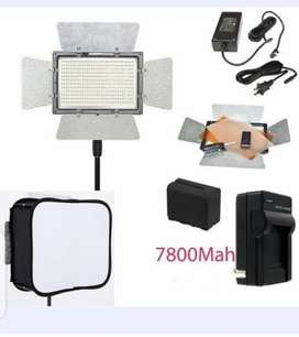 Luz LED younguo 900 pro 3200k-5500k
