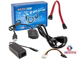 CABLE SATA ID  USB A SATA UNITEC 2.0