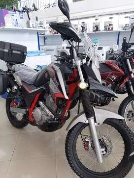 Moto XY400GY-3.  Viajera Shineray Mónica