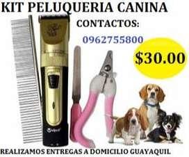 KIT DE PELUQUERIA CANINA
