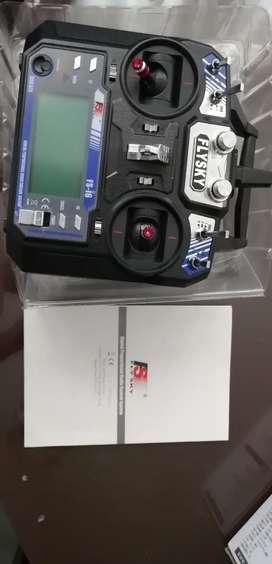 Radio control fly sky fs-ia6 2.4hz
