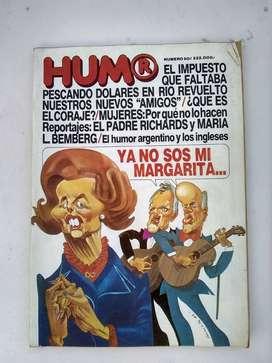 Revista HUMOR N° 80 - Abril de 1982