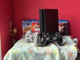 Playstation 4 slim de una 1TB
