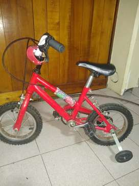 Bicicleta BMX varón rodado 12 usada