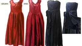 Dos lindos vestidos de fiesta por el precio de uno