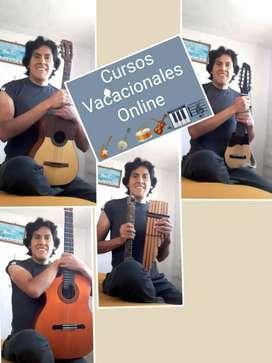 Cursos,  Charango, Ukelele,  Guitarra y más
