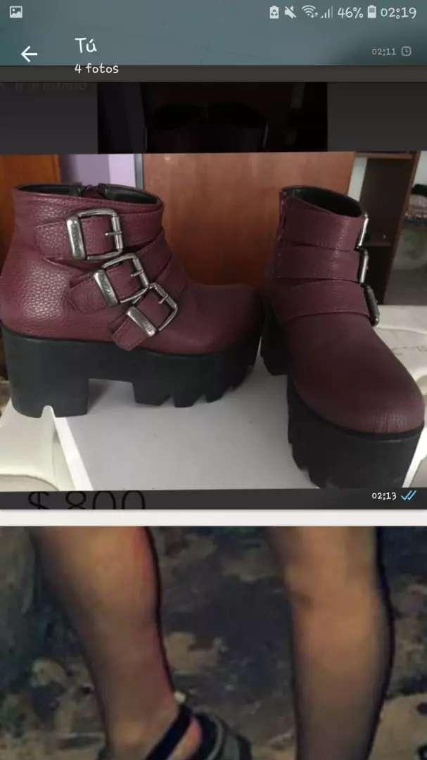 Zapatos sarkany 0
