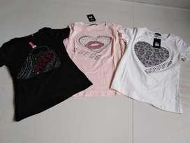 Camisetas Dama Tela Fria