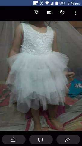 Vestido para baurizo niña