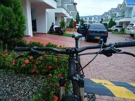 Manubrio bicicleta MTB  doble altura 800 mm