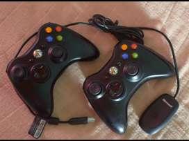 Joystick Xbox 360 wireless con receptor Microsoft