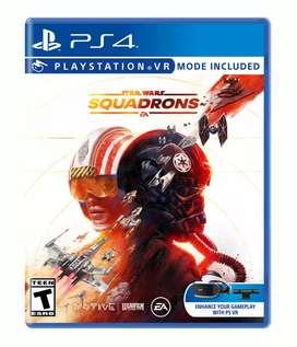 Juego PS4 STAR WARS SQUADRONS nuevo!