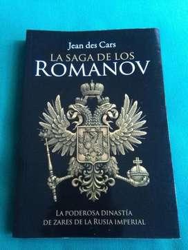 La Saga de Los Romanov . Jean Des Cars . Libro El Ateneo 2016