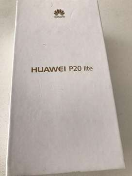 Huawei P20 lite rosado impecable!