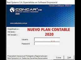 CONCAR 2020 CB ULTIMA ACTUALIZACION