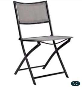 Dos sillas de terraza o jardin