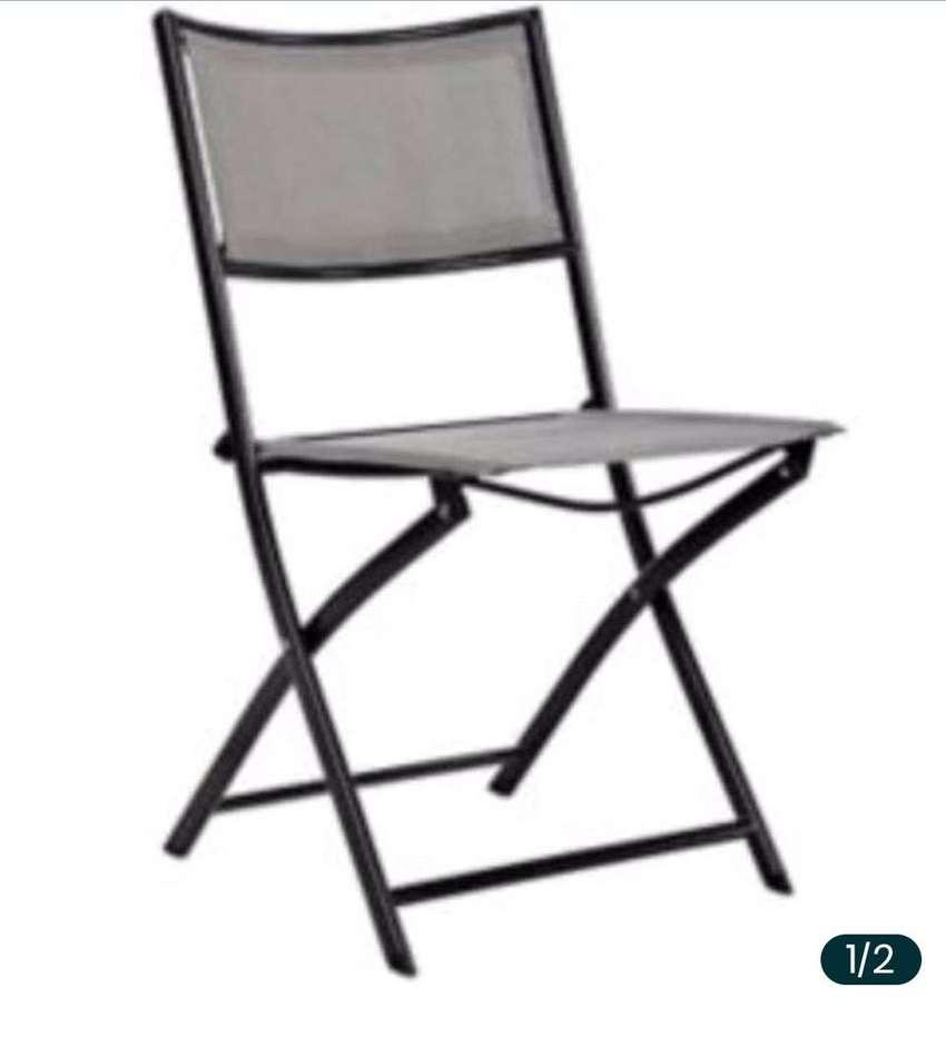 Dos sillas de terraza o jardin 0