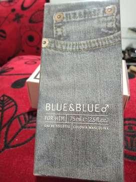 Se vende loción blue &blue para hombre.