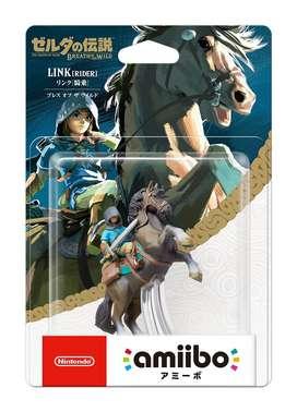 Amiibo Zelda Link Rider Breath Of The Wild Nintendo Switch Nuevo Original y sellado