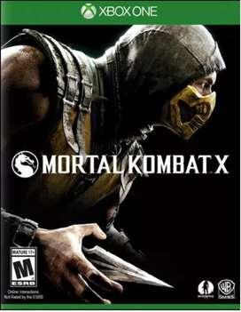 Mortal Kombat X - Xbox One - JUEGO FISICO COMO NUEVO