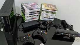 Xbox con kinetc y 2 controles excelente estado