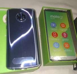 Vendo Motorola G6 plus azul