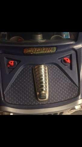 Carro electrico para soldar cable