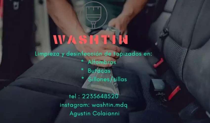 WASHTIN Limpieza de tapizados 0