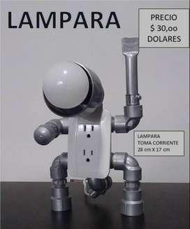 LAMPARA TOMA