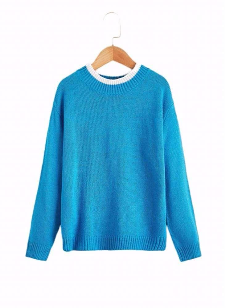Saco Infantil Color Azul Claro