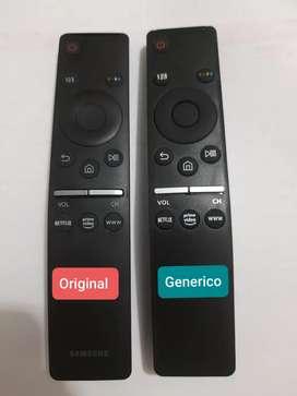 Control remoto smart tv Samsung botones Netflix www